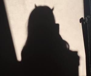 shadow, dark, and Devil image