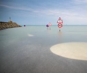ocean, panneau, and pentax image
