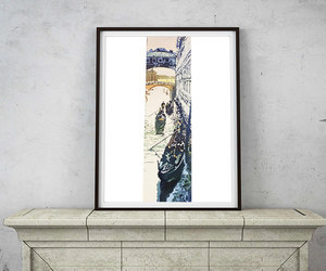 bridge of sighs, etsy, and watercolor art image
