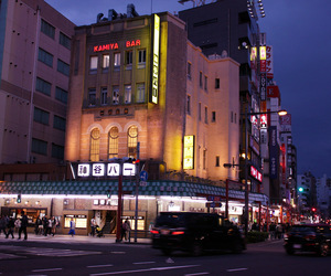 asakusa, building, and traffic image