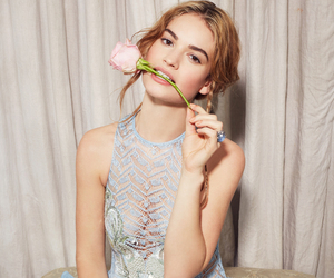 lily james, cinderella, and pretty image