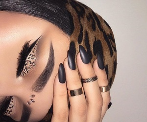 cheetah, makeup, and instagram image