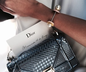 dior, fashion, and bag image