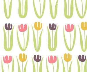 background, cactus, and flowers image