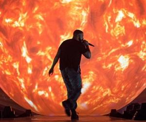 Drake, champagne papi, and orange feed image