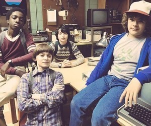 stranger things, netflix, and finn wolfhard image