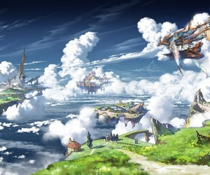 anime, clouds, and granblue fantasy image