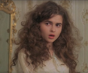 helena bonham carter, a room with a view, and hair image