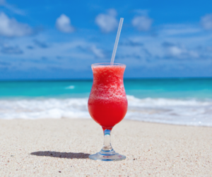 alcohol, beaches, and paradise image