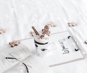 winter, christmas, and book image