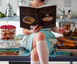 book, food, and cook image