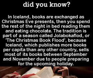 books, christmas, and iceland image