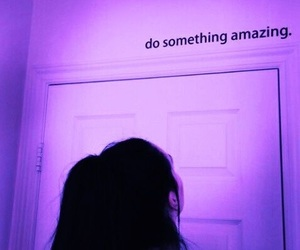 purple and quotes image