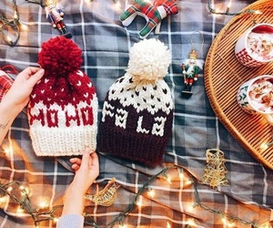 christmas, hat, and winter image