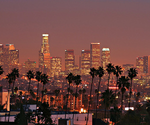 beautiful, city, and los angeles image