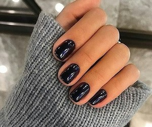 blue, nail polish, and nails image