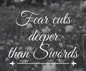 quotes, cut, and fear image
