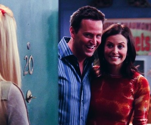 courtney cox and Matthew Perry image