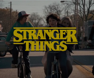 stranger things and vintage image