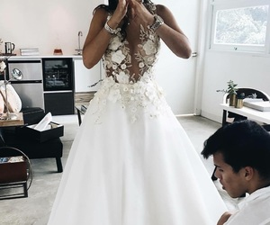 blanco, bride, and dress image