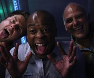 psych, shawn, and woody image