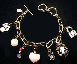 charm bracelet, etsy, and fashion bracelet image