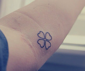 clover and tattoo image