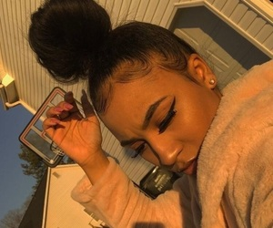 edges, hair, and makeup image