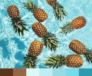 blue, color pallet, and color image