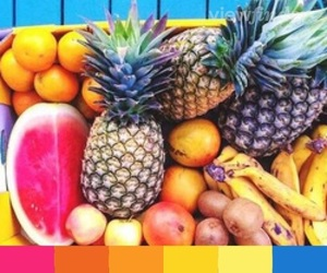 aesthetic, fruit, and color image