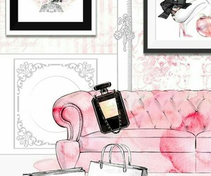 chanel, dior, and girly image