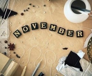 november, hello, and month image