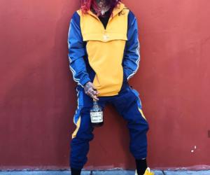 Brooklyn, hair, and 6ix9ine image
