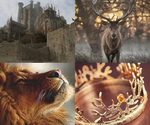 castle, crown, and stark image