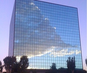sky, clouds, and building image