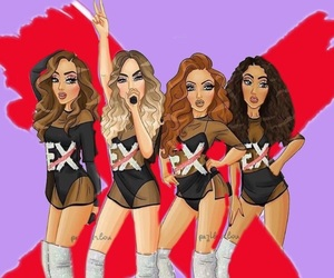 jade, mix, and perrie image