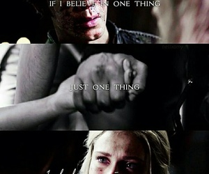 the 100, love, and bellarke image