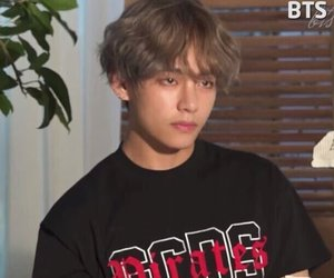 v, bts, and taehyung image