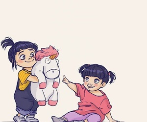 agnes, art, and boo image
