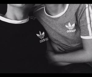 adidas, baby, and boyfriend image