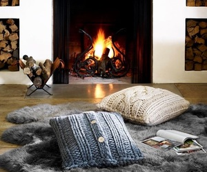 winter, cozy, and home image