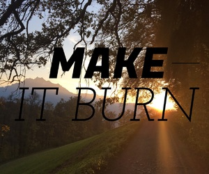 burn, exercise, and fit image
