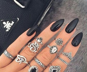 accessories, black, and jewelry image