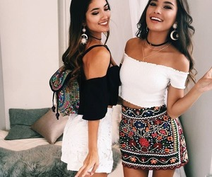 besties, friendship, and style image