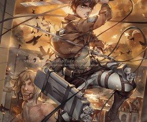 fanart, shinjeki no kyojin, and attack on titan image