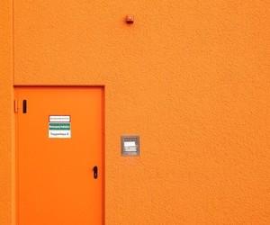 door, facade, and orange image