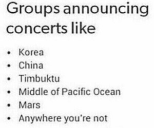 kpop, concert, and funny image