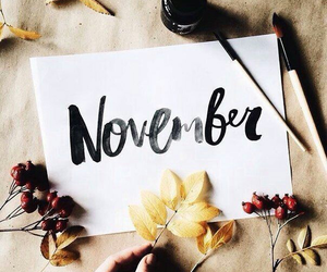 november, article, and autumn image