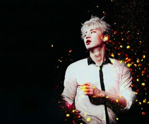 cute boys, exo, and fire lights image