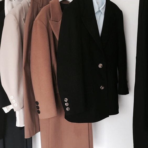chic, coats, and clothes image